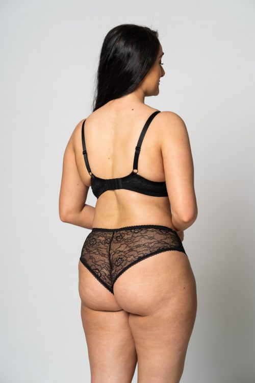 Black Lace Knicker